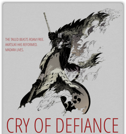 CRY OF DEFIANCE [naruto au] Adtop